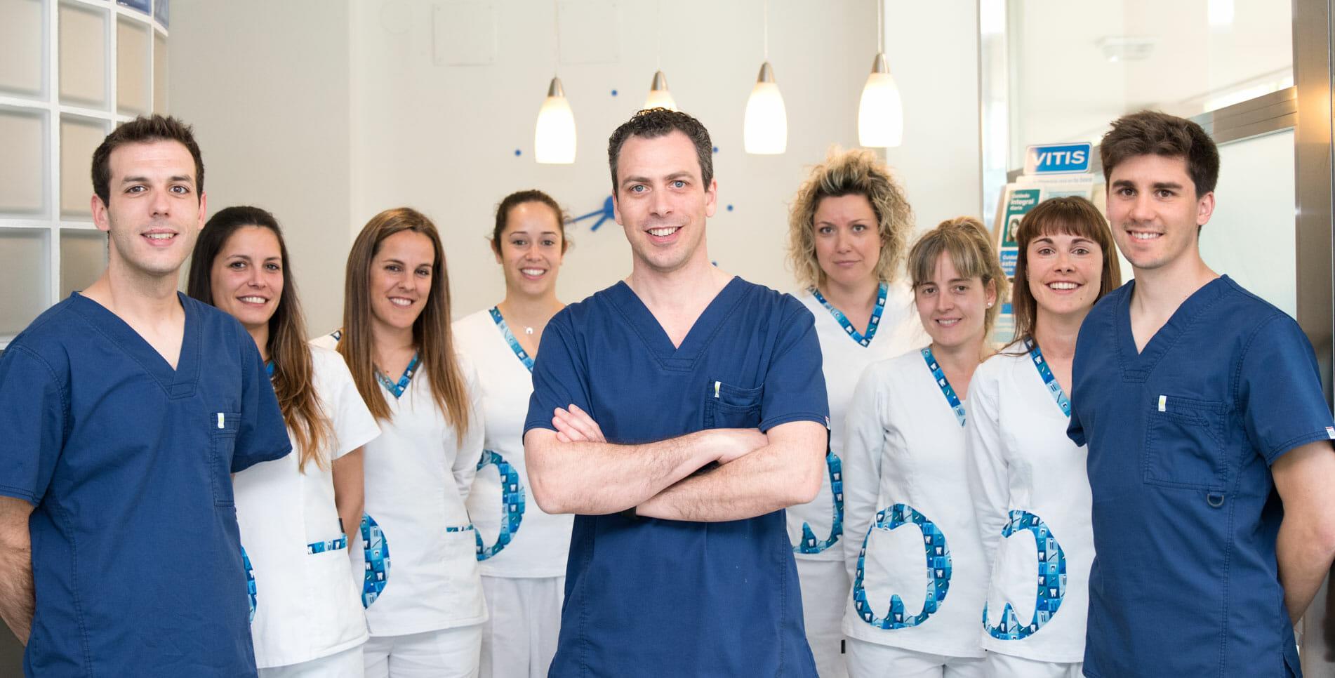 Equipo. Alaia Clinica Dental. Hernani. Gipuzkoa